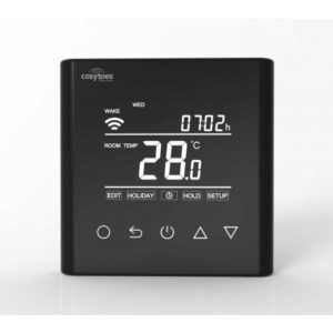 Wifi Touchscreen Thermo - Black - £227