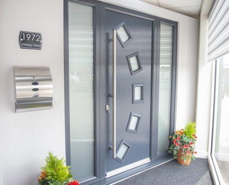anthracite composite door